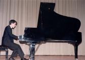 Sergio Bernal al piano